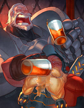 Overwatch - Post Game Drinks by nakanoart