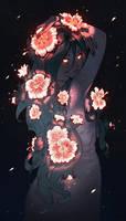 Night Flower by nakanoart