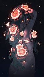 Night Flower by nakanoart