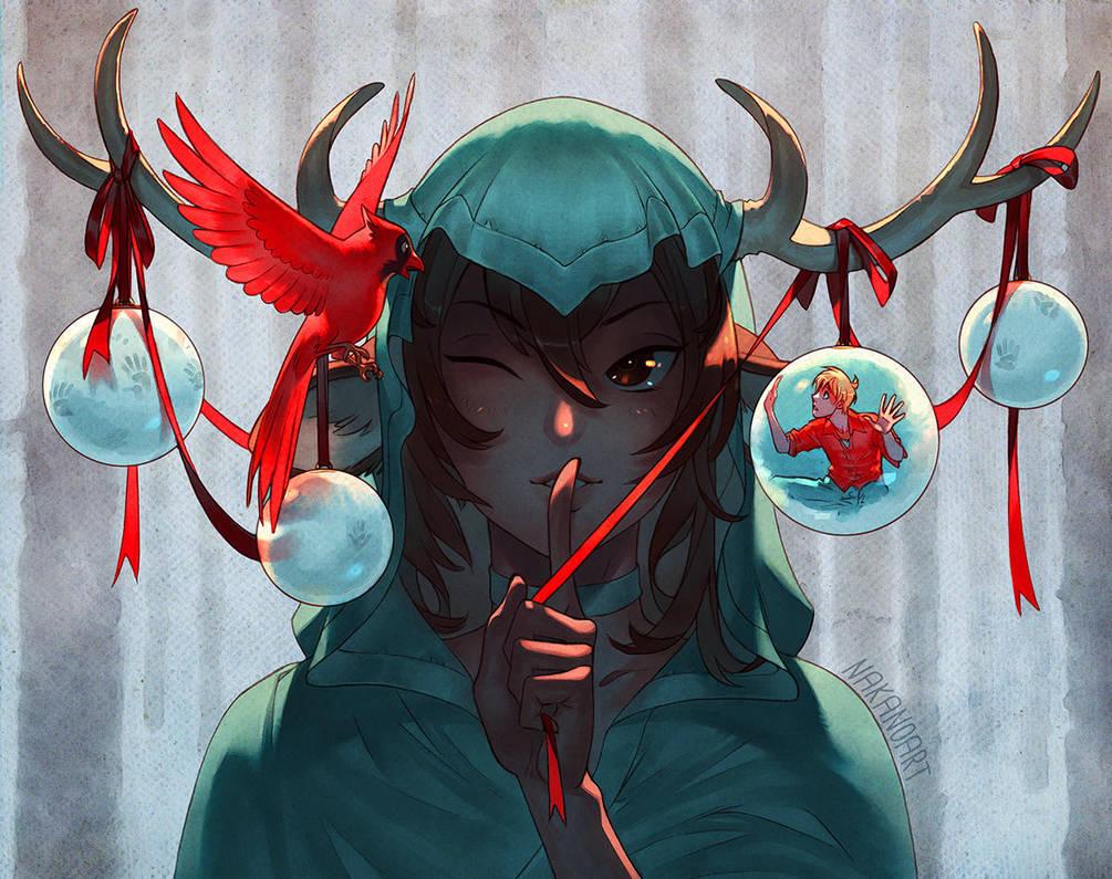 Reindeer Games by nakanoart