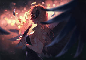 Black Swan by nakanoart