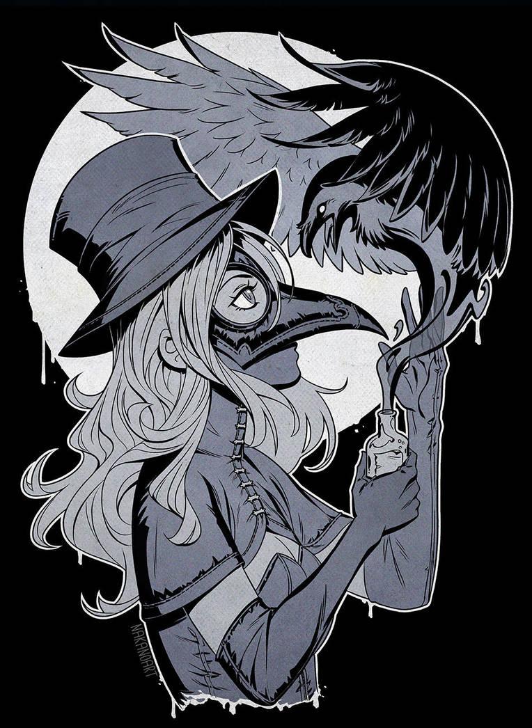 Plague Doctor by nakanoart