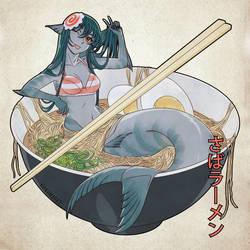 Mermaid Mackerel by nakanoart