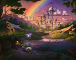 Rainbow Castle by Gjaldir