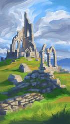 Hilltop Ruin by Gjaldir