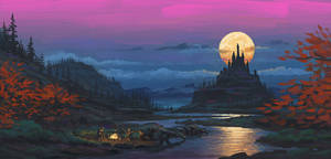 Moonriver Castle by Gjaldir