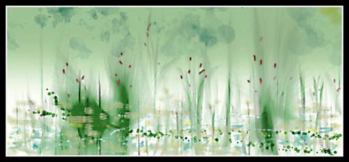 dA muro lake sketch by hugitsa