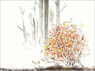 dA muro autumn sketch by hugitsa