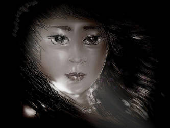 Face sketch by hugitsa