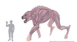 Underworld: Bloodlines OC by Arrancarfighter