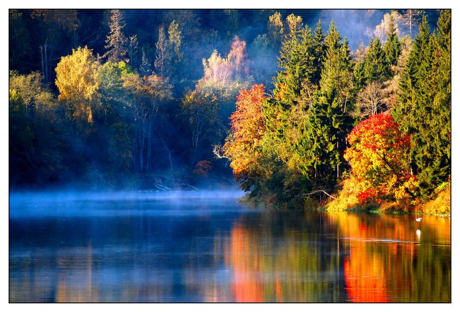 Latvian autumn by kuzjka