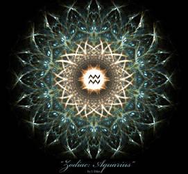 Zodiac Aquarius by jonathandilas