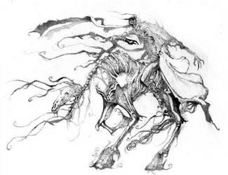 headless horseman by maquinafantasma