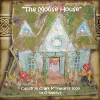 Mouse House Dollhouse by grimdeva