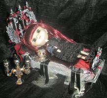 Vampire Mini Pullip Doll by grimdeva