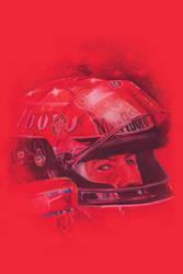 Schumacher with Helmet by HKT