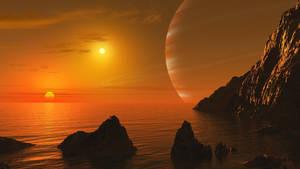 Sunrise of Alpha Centauri by uxmal750ad