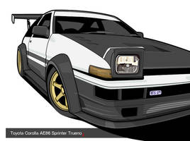 Modded AE86 by donbenni