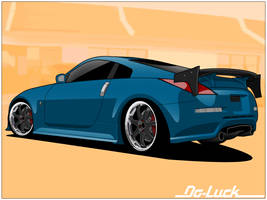 Do Luck 350Z by donbenni