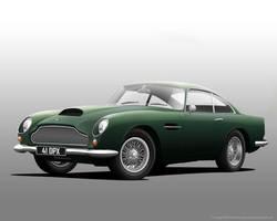 Aston Martin DB4 GT by donbenni