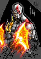 kratos remast by servatillo
