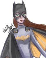 Batgirl by ChellizardDraws