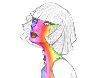 Pride by ChellizardDraws