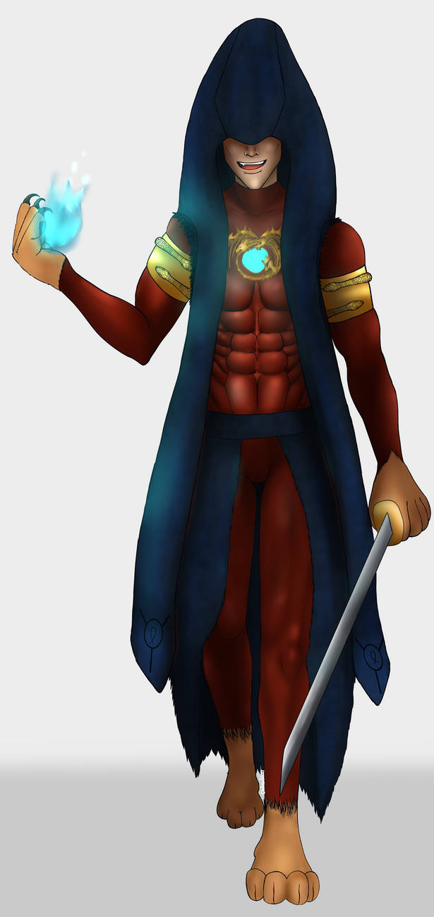 King Chimera by ChellizardDraws