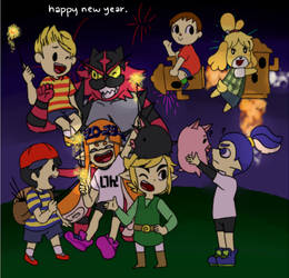 happy new year. by smol-link