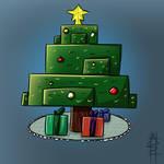 Minceraft christmas tree by ASHdrawings