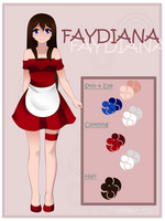 Comm125 :: Faydiana Reference by Kuichuu