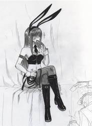 Bunny girl fatal by EvaAKMcDowell