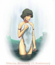 13 Mononoke Hime Anniversary by koori101