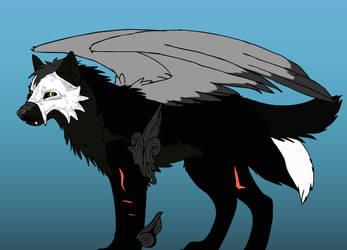 Wolf Warrior Adopt by Werefox256