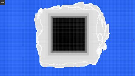Solar Eclipse Pixelated by Werefox256