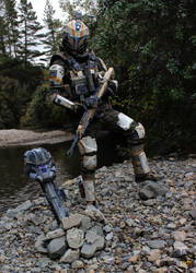 Titanfall 2 :  Holo PIlot Cosplay   -   AndrewDFT by CpCody