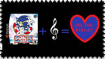 Sonic Music Stamp by RoseOfTheNight4444