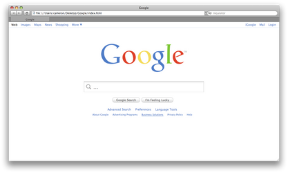 Google Redux by simplecandy