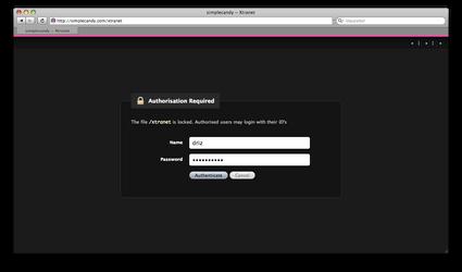 Txp Authorization Redux by simplecandy