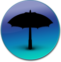 umbrella logo by simplecandy