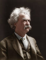 Mark Twain by Zuzahin