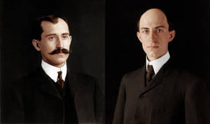 Orville and Wilbur Wright by Zuzahin