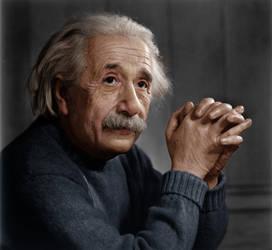 Albert Einstein by Zuzahin