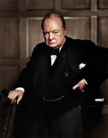 Winston Churchill by Zuzahin