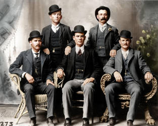 Butch Cassidy and the Wild Bunch by Zuzahin