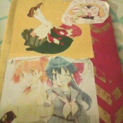keroro decorated notebook by tackytuesday