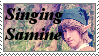 Singing Samine stamp by KarBoy2314PL