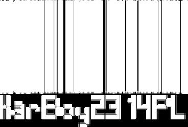 KarBoy2314PL's Barcode (No Background) by KarBoy2314PL