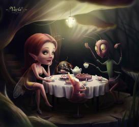 Tea Party by VarLa-art