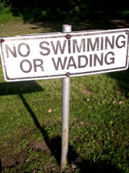 no swimming by Noxious-Nikki